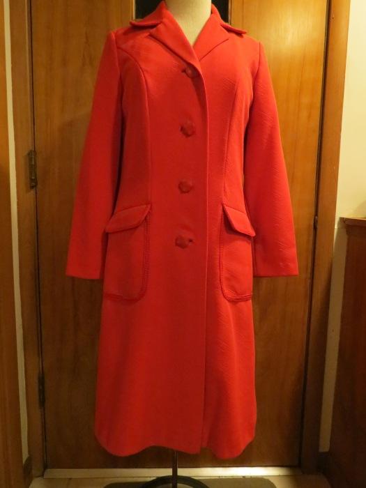 True Vintage 1970s Spring Coat