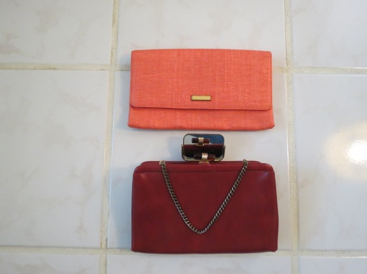 TWO TRUE VINTAGE PURSES FOR SPRING BY MORRIS MOSCOWITZ & ANDE'