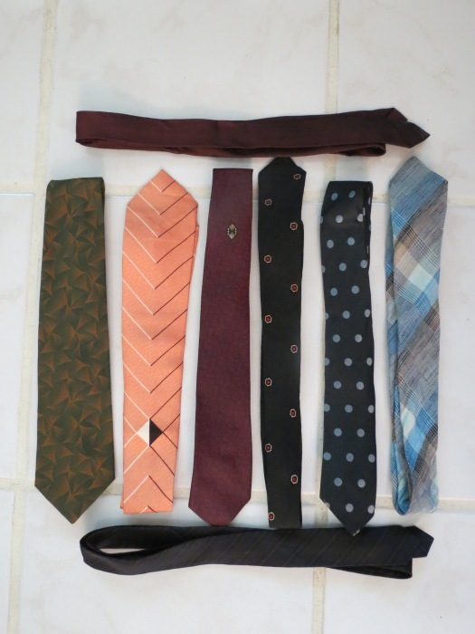 TRUE VINTAGE 1950s & '60s MEN'S NECKTIES