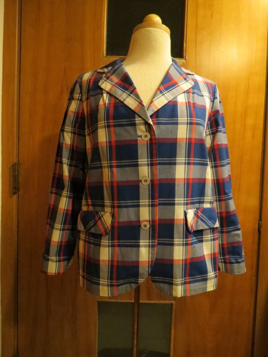 TRUE VINTAGE EARLY 1960s SPRING JACKET IN NAUTICAL COLORS