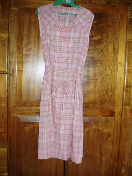 ANOTHER TRUE VINTAGE 1950'S DAY DRESS
