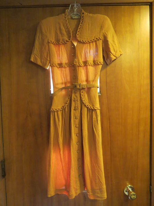 A FUN FROCK FROM THE FORTIES