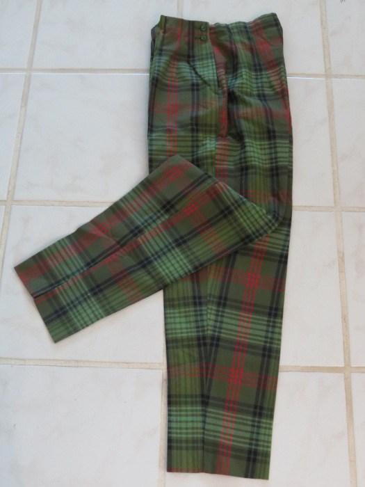 TRUE VINTAGE 1950'S - EARLY 1960'S CAPRI PANTS
