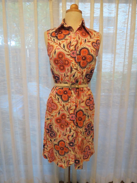 ONE OF MY FAVORITE (I SAY THAT A LOT!) DRESSES FROM THE 1970'S, BY COS COB