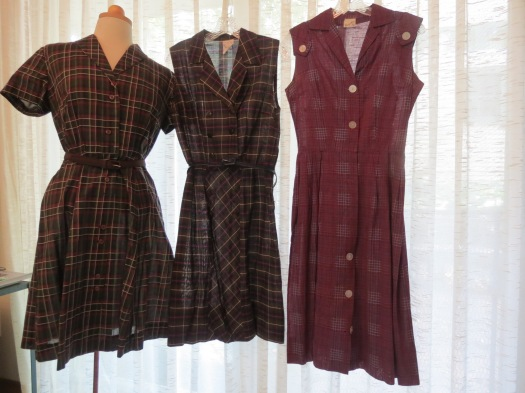 A COLLECTION OF FAVORITE LATE 1950'S - EARLY 1960'S DRESSES FOR EARLY FALL