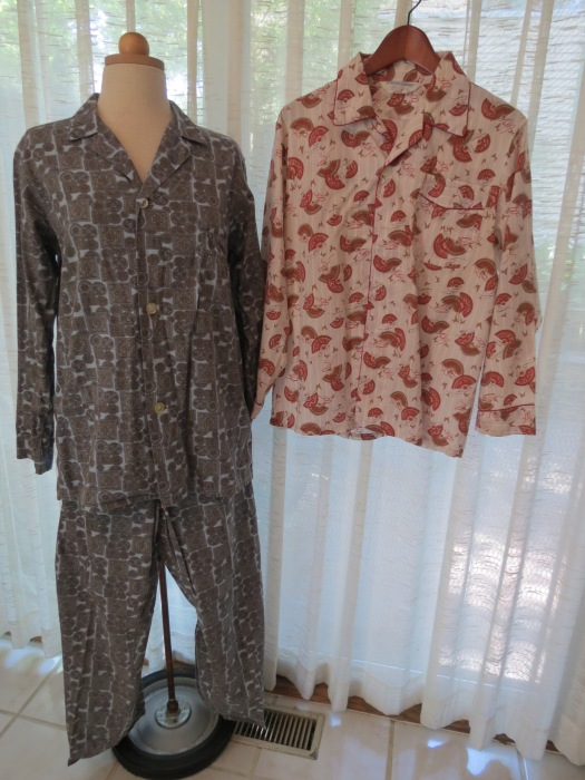 TRUE VINTAGE 1950'S/'60'S TRADITIONAL TAILORED MEN'S PAJAMAS