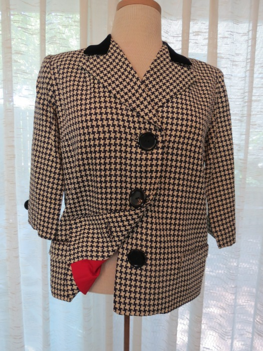 TRUE VINTAGE LESLIE FAY ORIGINAL JACKET FROM THE LATE 1940'S - 1950'S - A FAVORITE!!