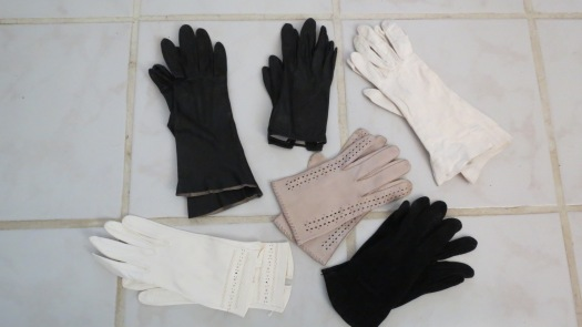 ELEGANT TRUE VINTAGE GLOVES FROM THE 1950'S & '60'S - AN ACCESSORY WORTH COLLECTING