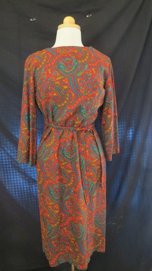 A TRUE VINTAGE FALL DAY DRESS FROM THE LATE 1960'S