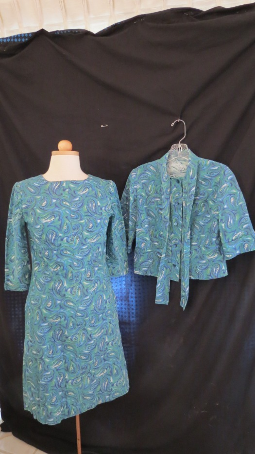 MOD 1960'S DRESS WITH MATCHING JACKET