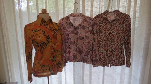 TRUE VINTAGE 1960'S - '70'S POLYESTER SHIRTS