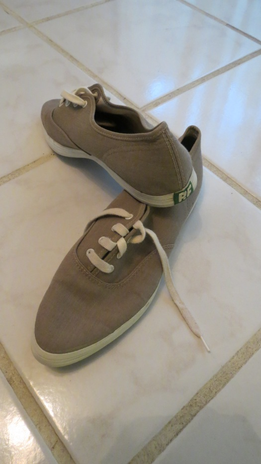 MY TRUE VINTAGE 1950'S -  EARLY 1960'S PF FLYERS TENNIS SHOES WITH POINTED TOES