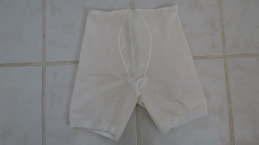 A TRUE VINTAGE 1950'S - 1960'S PANTYGIRDLE WITH GARTERS