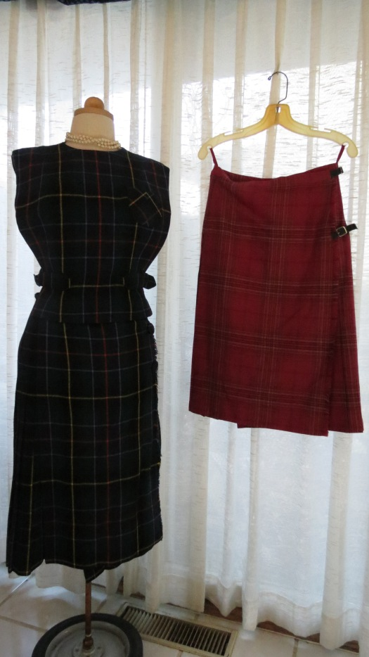 MORE TRUE VINTAGE TARTAN PIECES - REAL CLASSICS