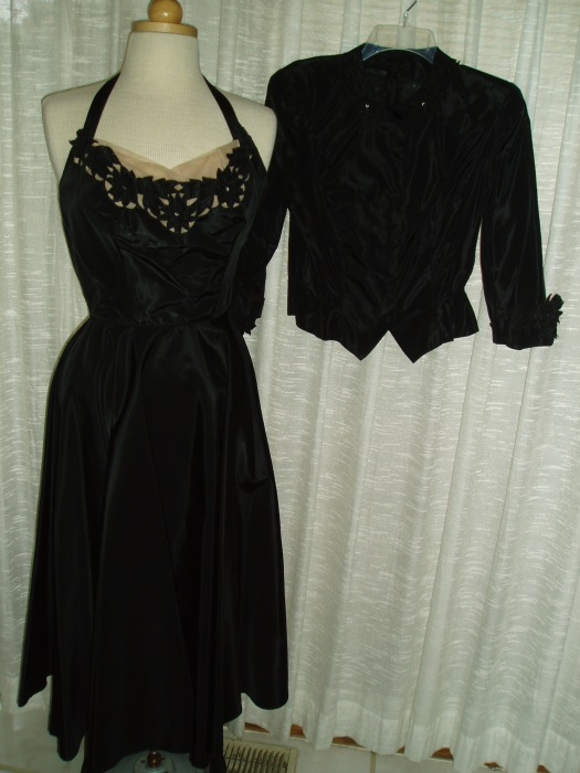 EMMA DOMB 1950'S PARTY FROCK AND JACKET