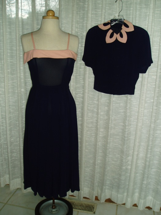 BEST 1950'S SUNDAY, DINNER, PARTY, DATE, OCCASION JACKET DRESS