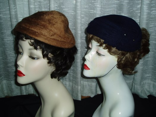 CUTEST EVER 1950'S WOOL HATS FOR CHIC WINTER DAYS