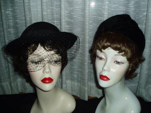 ELEGANT AND SOPHISTICATED LADIES' TRUE VINTAGE HATS