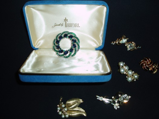 FINE COSTUME JEWELRY BY TRIFARI - THE SMART WOMAN'S CHOICE 1930'S - 1980'S