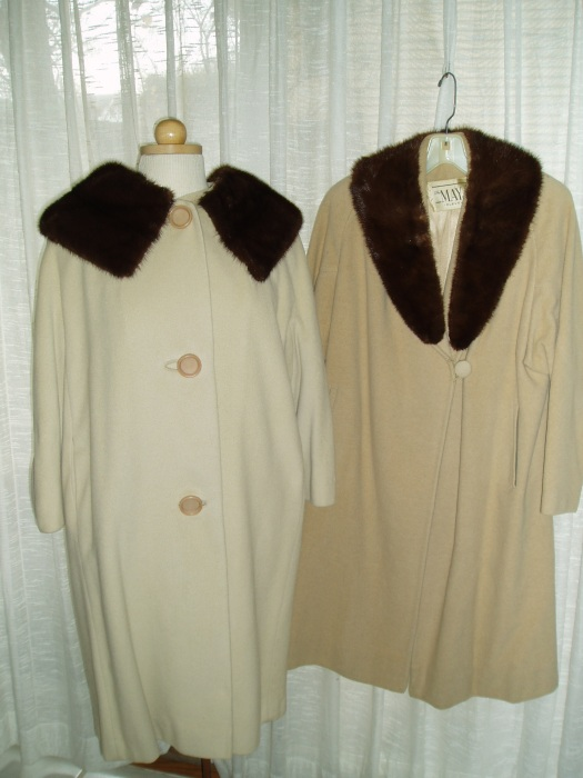 TRUE VINTAGE CASHMERE & MINK FOR WINTER WHITE NIGHTS