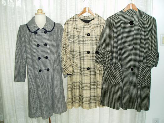 FINALLY! TRUE VINTAGE EARLY SPRING COATS FROM THE 1940'S - 1950'S