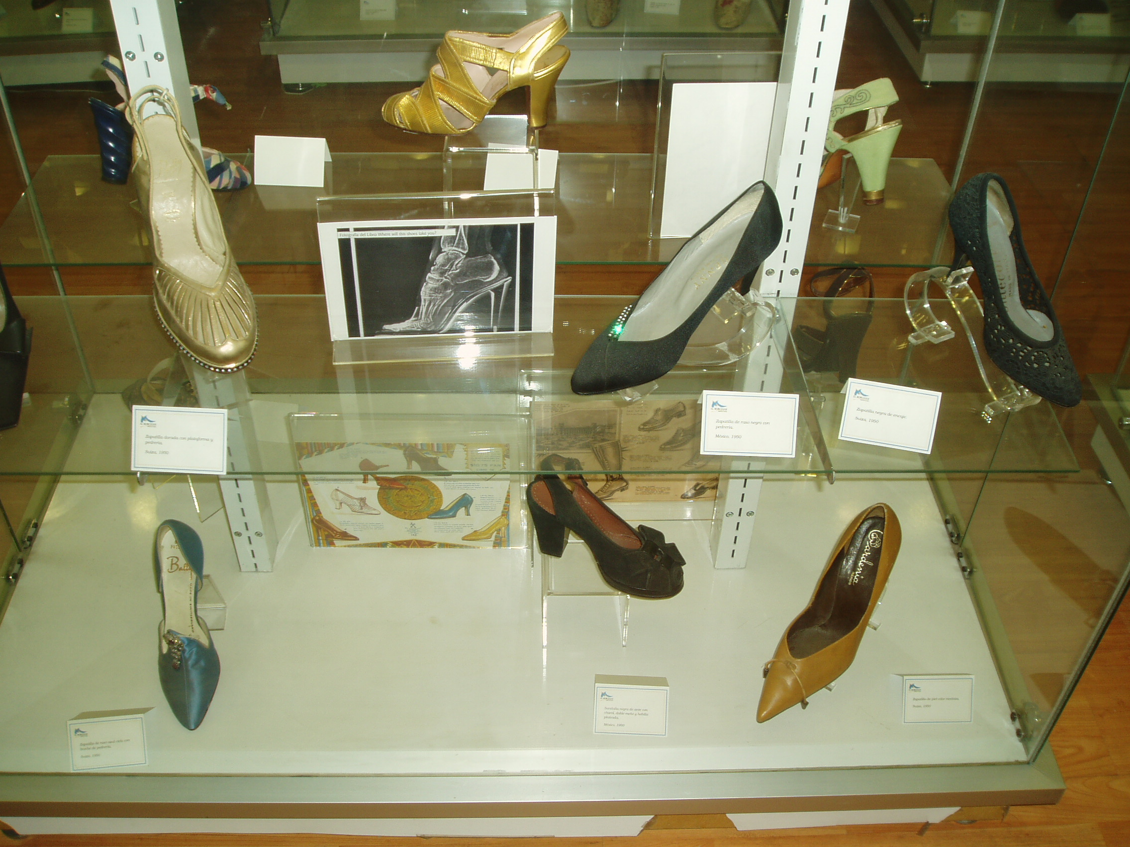 GORGEOUS DRESSY 1950'S SHOES AT THE SHOE MUSEUM