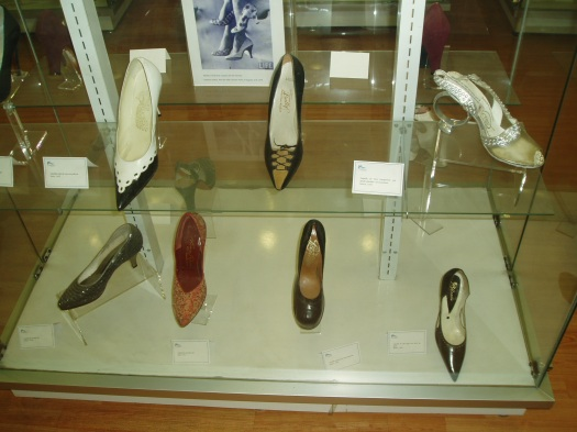 MORE CLASSIC EXAMPLES FROM THE FIFTIES AT THE SHOE MUSEUM