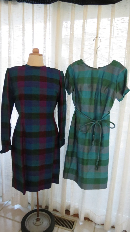 MY 1960'S THAI SILK DRESSES