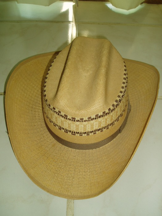 WOVEN SUMMER - WEIGHT VERSION OF THE CLASSIC COWBOY HAT - MADE IN CALGARY, ALBERTA BY SMITHBILT