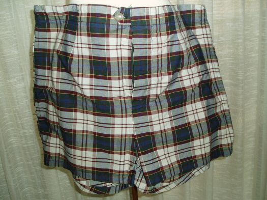 BACK TO THE EARLY SIXTIES - TRUE VINTAGE MEN'S SWIM TRUNKS