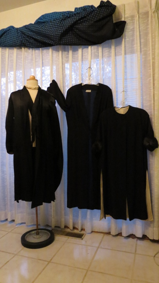 MY MOST QUIRKY, OLDEST EVENING COATS - FROM THE 1930'S & 1940'S