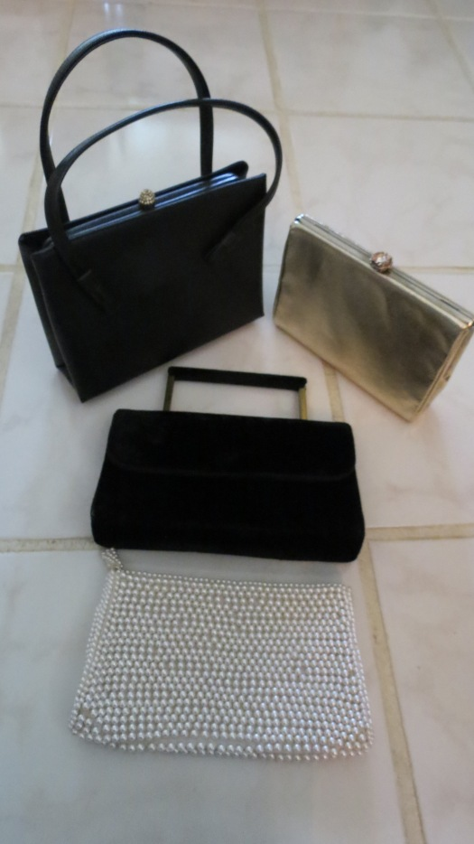 TRUE VINTAGE HANDBAGS FOR HOLIDAY PARTIES AND SPECIAL EVENTS