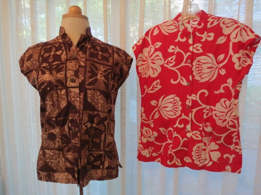 TRUE VINTAGE HAWAIIAN SHIRTS FROM BACK IN THE DAY . . .