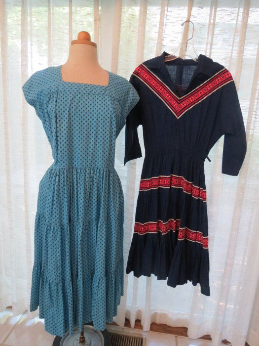 SOUTHWESTERN NATIVE AMERICAN - INSPIRED DRESSES FROM THE 1950'S