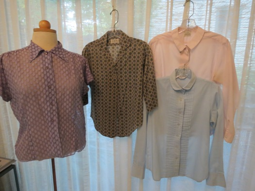 MORE TRUE VINTAGE BLOUSES FROM THE '50'S AND '60'S